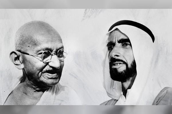 Memorial For Zayed, Gandhi In Abu Dhabi  Asian Lite Uae-2139