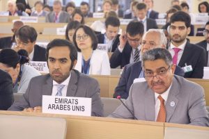 UAE delivers Arab Group speech before Human Rights Council